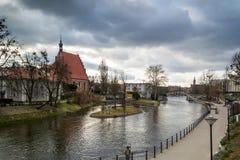 米尔岛在比得哥什,波兰02/05/2018 免版税图库摄影