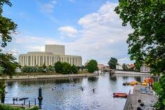 米尔岛在比得哥什,波兰 免版税库存照片