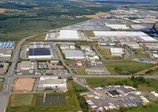 米尔顿安大略工业园 免版税库存照片