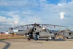 米尔Mi35 免版税库存图片