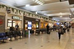 米尼亚波尼斯国际机场在2013年7月02日的明尼苏达 库存照片