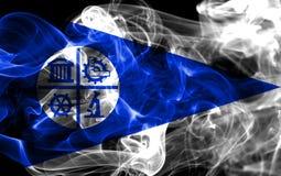 米尼亚波尼斯市烟旗子,明尼苏达状态,美利坚合众国 库存图片