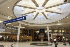 米尼亚波尼斯机场一个开阔地带在201的7月02日,明尼苏达 免版税库存图片