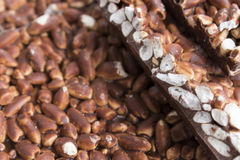 米巧克力 免版税库存图片
