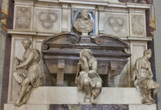 米开朗基罗坟茔大教堂二的三塔Croce,佛罗伦萨 免版税库存照片