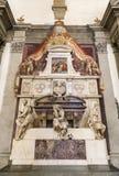 米开朗基罗墓碑  库存图片