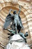 米开朗基罗纪念碑 免版税图库摄影