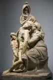 米开朗基罗` s圣母怜子图, Museo小山谷` Opera del Duomo,佛罗伦萨 库存照片