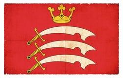 米德塞科斯大英国难看的东西旗子  免版税库存图片