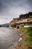 米拉韦impresive视图形式埃布罗河 免版税库存图片