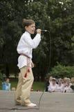 米斯克市节假日: 945年, 2012年9月9日 免版税库存照片