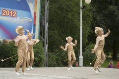 米斯克市节假日: 945年, 2012年9月9日 图库摄影
