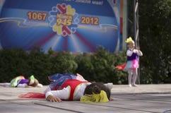 米斯克市节假日: 945年, 2012年9月9日 免版税库存图片