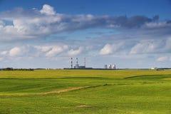 米斯克能源厂 库存图片