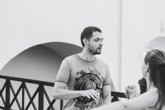 米斯克,比拉罗斯 2017年8月12日 免版税库存照片