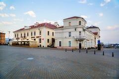 米斯克,白俄罗斯,自由正方形 免版税库存图片