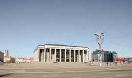 米斯克,白俄罗斯- 2017年3月23日 米斯克宫殿共和国 库存照片