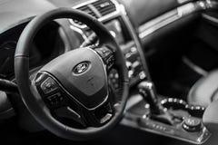米斯克, 5月2018内部Ford Explorer 免版税库存图片