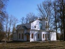 米斯克:XIX世纪白色房子  库存照片