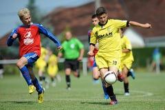 米斯克-布拉索夫在15足球赛以下 免版税库存照片