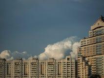 米斯克-白俄罗斯的首都看法  市中心 免版税图库摄影