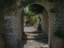 米斯特拉斯女修道院 免版税图库摄影