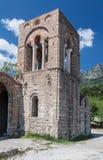 米斯特拉斯Agia索菲娅女修道院 库存照片