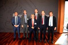 米格尔A SEGOVIANO_IMF队访问丹麦 免版税图库摄影
