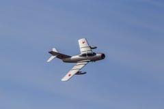 米格-15喷气式歼击机 免版税库存照片