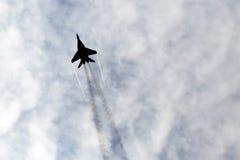 米格-29支点 免版税库存照片
