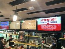 米棚子街道食物 免版税库存照片