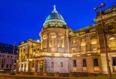 米歇尔图书馆,一个大公立图书馆在格拉斯哥 免版税库存图片