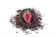 米泰国黑色和草莓 库存照片