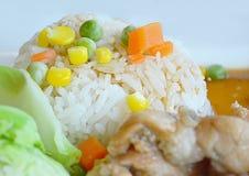米用烤肉 免版税图库摄影