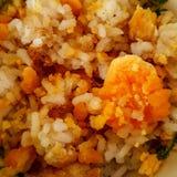 米用红色卵黄质 免版税库存照片