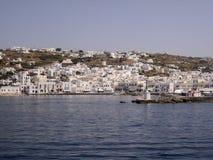米科诺斯岛希腊人海岛 图库摄影