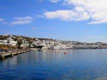 米科诺斯岛,希腊海岛 免版税图库摄影