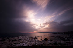 米科诺斯岛,希腊 免版税库存照片