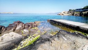 米科诺斯岛 库存照片