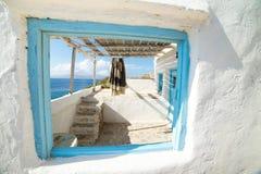米科诺斯岛 免版税图库摄影