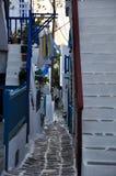 米科诺斯岛 免版税库存图片