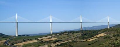 米约高架桥 库存照片