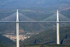 米约高架桥 库存图片