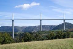 米约高架桥 免版税库存照片