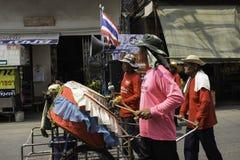 米缠绕节日,泰国 图库摄影