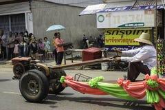 米缠绕节日,泰国 免版税图库摄影