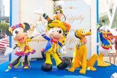 米老鼠和他的迪斯尼朋友 免版税库存图片