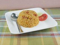米肉饭 免版税图库摄影