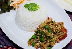 米蓬蒿餐馆泰国 图库摄影