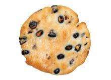 米薄脆饼干用黑大豆 库存图片